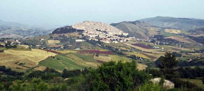 The villages of the Madonie Mountains: Petralia Sottana, Petralia Soprana and Gangi