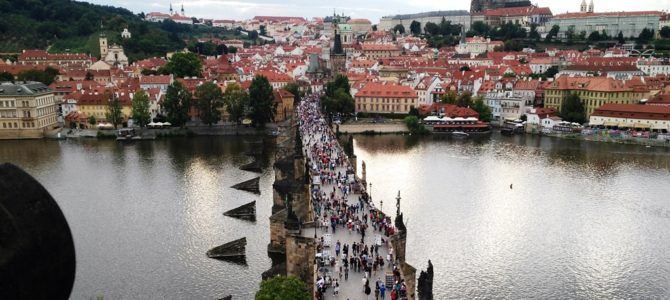 Prague: the city of one hundred towers
