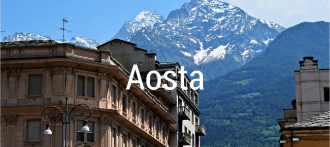 What to see in Aosta in one day
