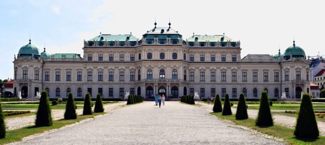 Vienna: the Belvedere Palace and Prater Park