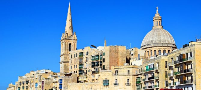 La Valletta, un giro nella Capitale Europea della Cultura 2018