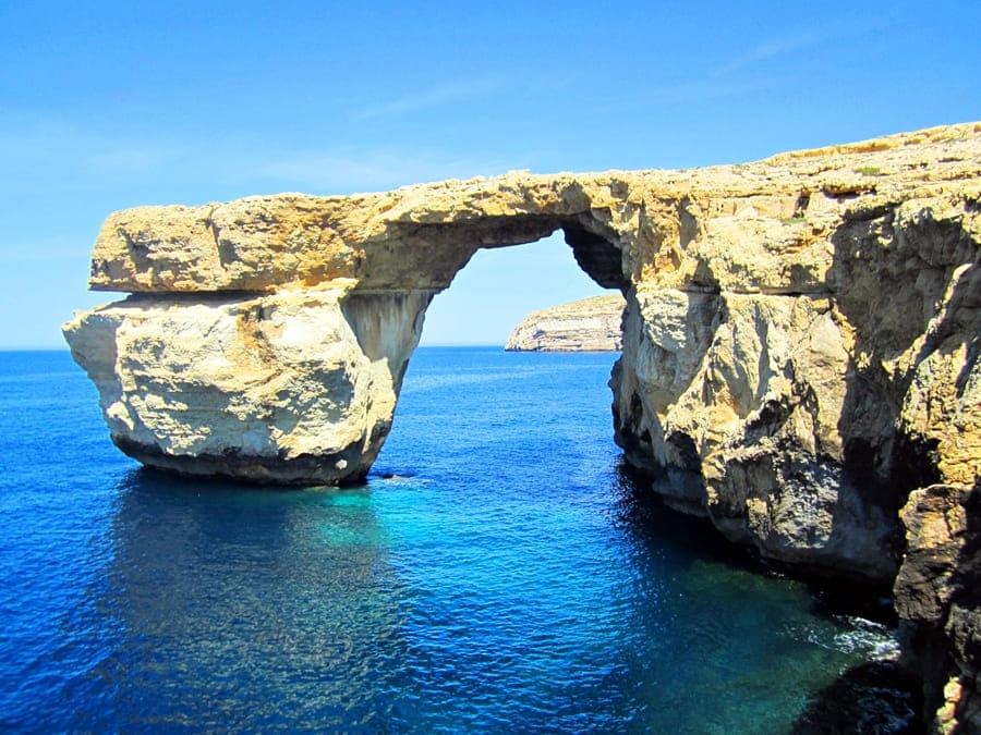 Gozo_-_Finestra_blu Gozo: un giorno sull'isola di Calipso