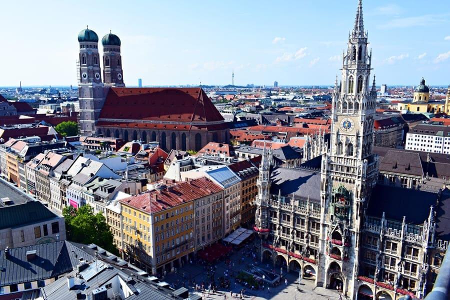 panorama-monaco-di-baviera-dalla-peterskirche-01 Monaco di Baviera: itinerario di tre giorni nella città dell'Oktoberfest