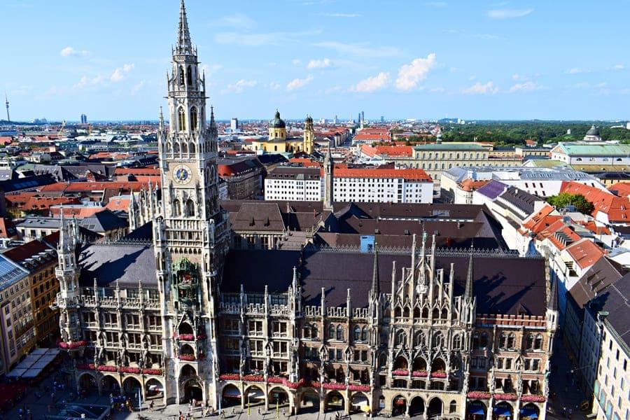 panorama-monaco-di-baviera-dalla-peterskirche-02 Monaco di Baviera: itinerario di tre giorni nella città dell'Oktoberfest