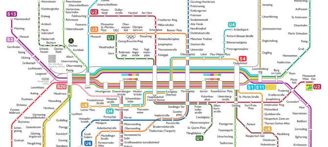 Come muoversi a Monaco di Baviera con i mezzi pubblici