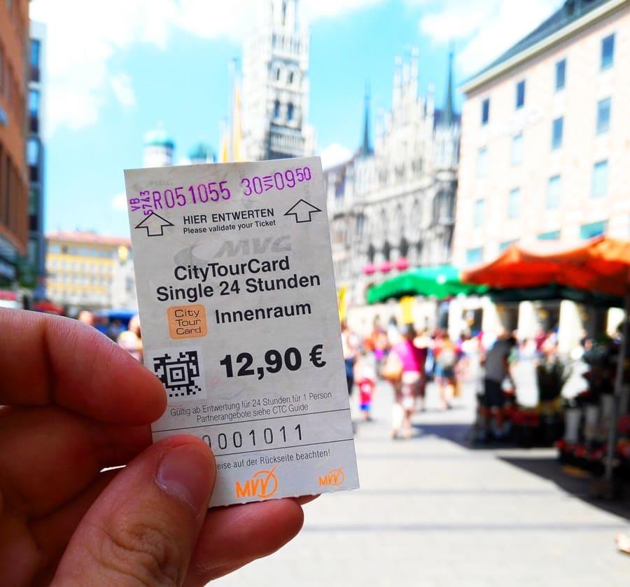 muenchen-city-tour-card-01 Come muoversi a Monaco di Baviera con i mezzi pubblici