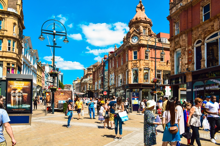 cosa-vedere-a-leeds-briggate Cosa vedere a Leeds, città inglese dello shopping