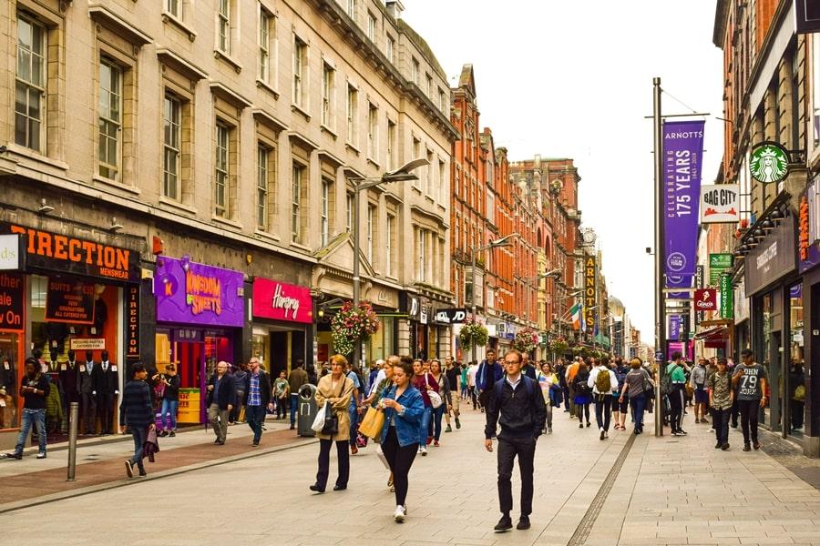 cosa-vedere-a-dublino-henry-street Cosa vedere e fare a Dublino in tre giorni