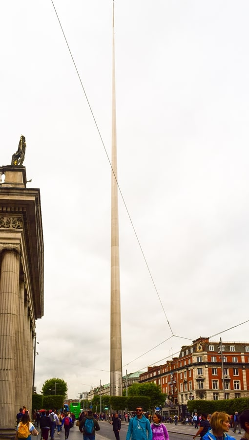 cosa-vedere-a-dublino-millennium-spire Cosa vedere e fare a Dublino in tre giorni