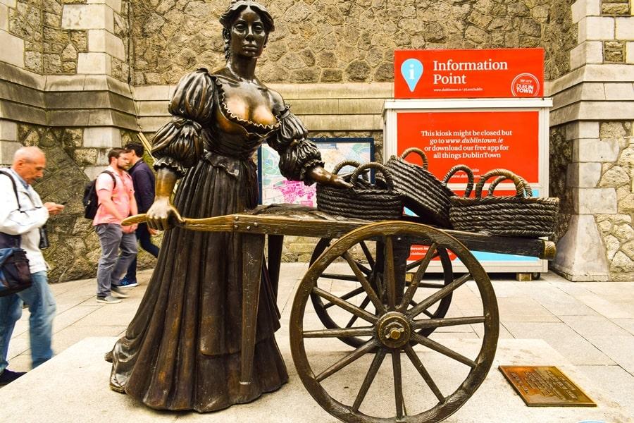 cosa-vedere-a-dublino-statua-molly-malone Cosa vedere e fare a Dublino in tre giorni