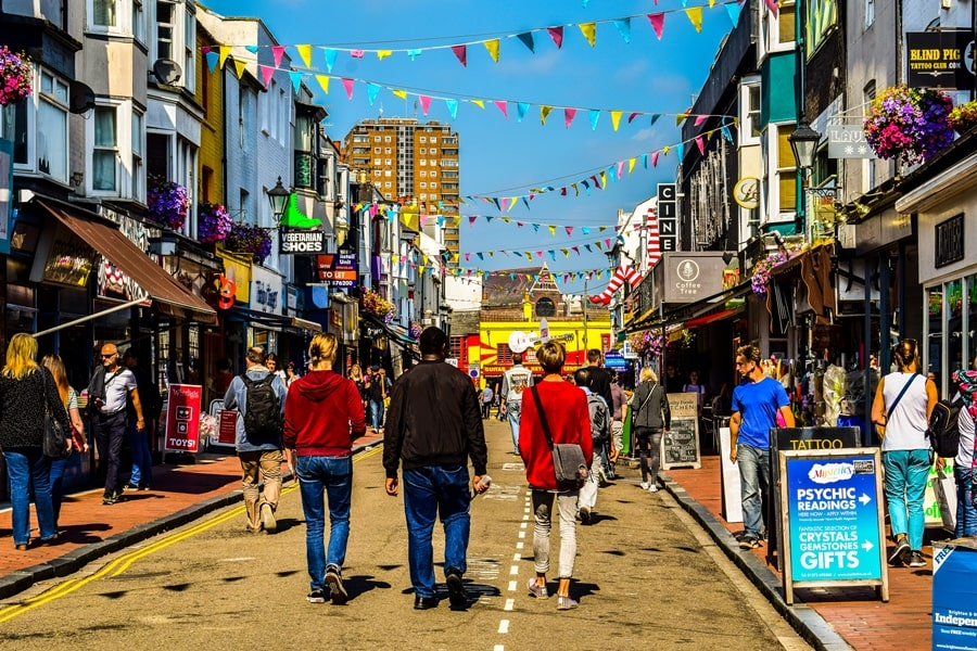 cosa-vedere-a-brighton-inghilterra-north-laine-01 Cosa vedere a Brighton in un giorno, la più famosa città balneare inglese