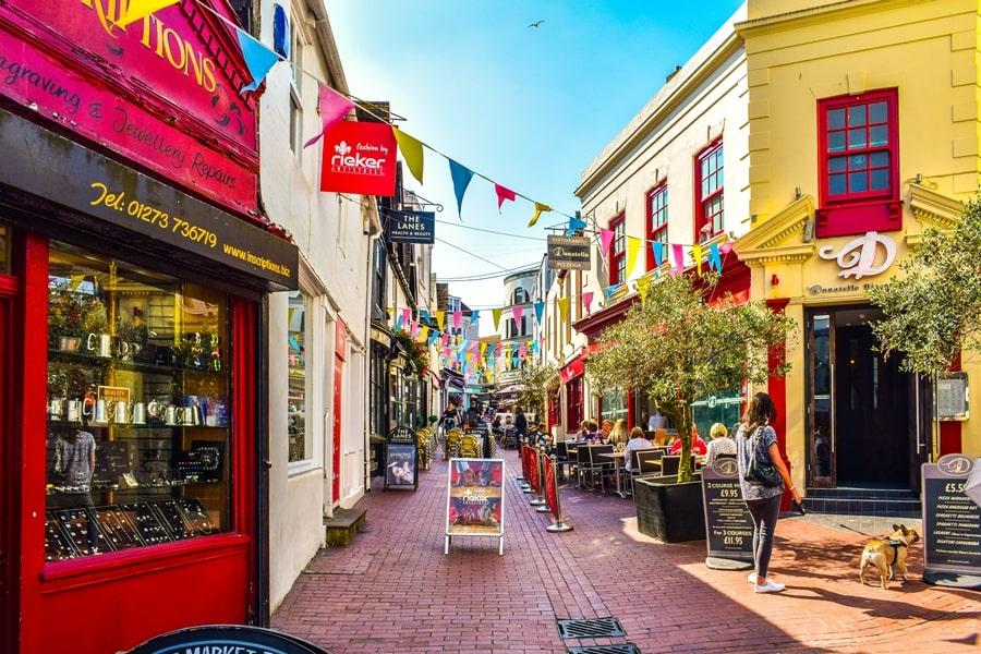 cosa-vedere-a-brighton-inghilterra-the-lanes-01 Cosa vedere a Brighton in un giorno, la più famosa città balneare inglese