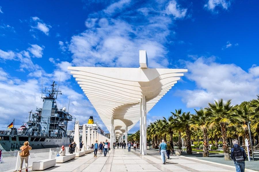 cosa-vedere-a-malaga-muelle-uno-porto-malaga-andalusia-tour-spagna-05 Cosa vedere a Malaga in un giorno
