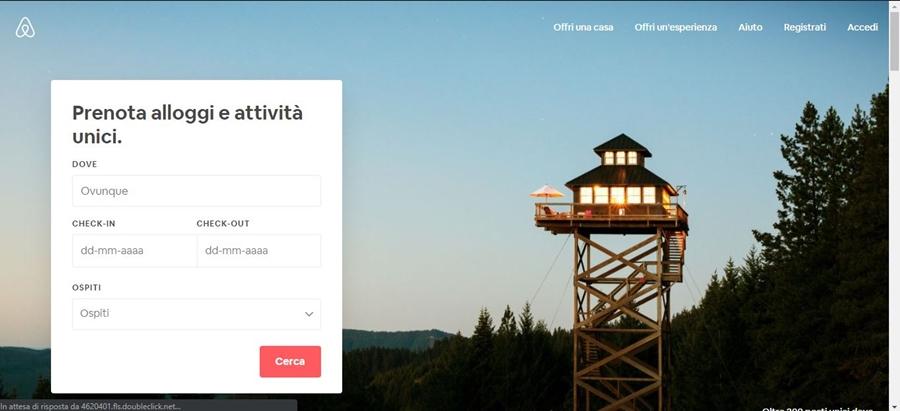 come-funziona-airbnb-homepage Come funziona Airbnb: trovare alloggi in tutto il mondo