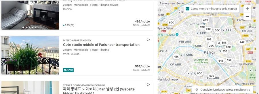 come-funziona-airbnb-mappa Come funziona Airbnb: trovare alloggi in tutto il mondo