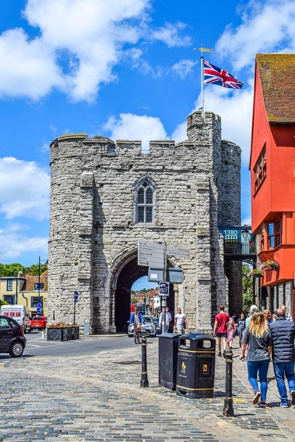 cosa-vedere-a-canterbury-westgate-tower Canterbury: cosa vedere e fare in un giorno partendo da Londra