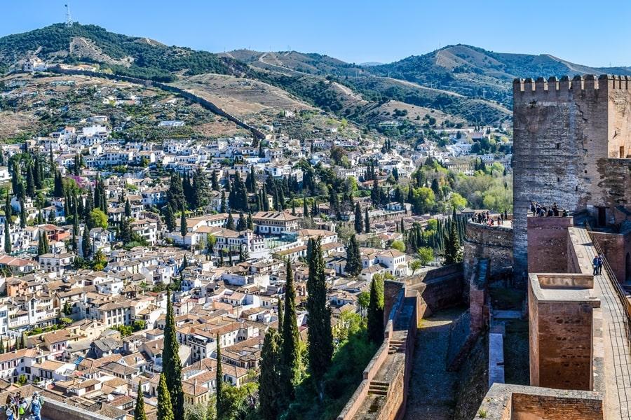 alhambra-granada-alcazaba-05 L'Alhambra di Granada: tutte le informazioni sulla visita e i biglietti