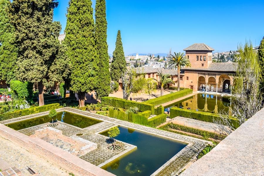 alhambra-granada-el-partal-02 L'Alhambra di Granada: tutte le informazioni sulla visita e i biglietti