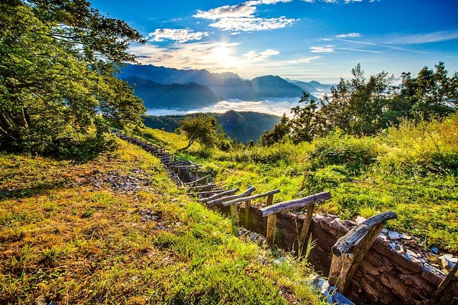 valle-isonzo-slovenia-museo-aperto-kolovrat-03 Valle dell'Isonzo: cosa fare e vedere tra storia, sport e bellezze naturali