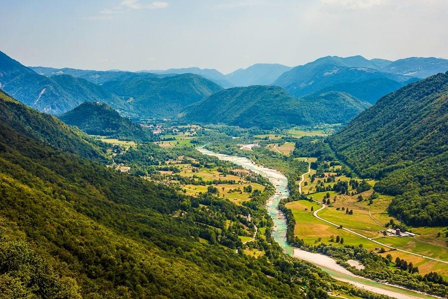 valle-isonzo-slovenia-tolmino Valle dell'Isonzo: cosa fare e vedere tra storia, sport e bellezze naturali