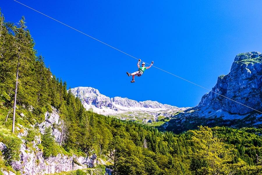 valle-isonzo-slovenia-zipline-bovec Valle dell'Isonzo: cosa fare e vedere tra storia, sport e bellezze naturali