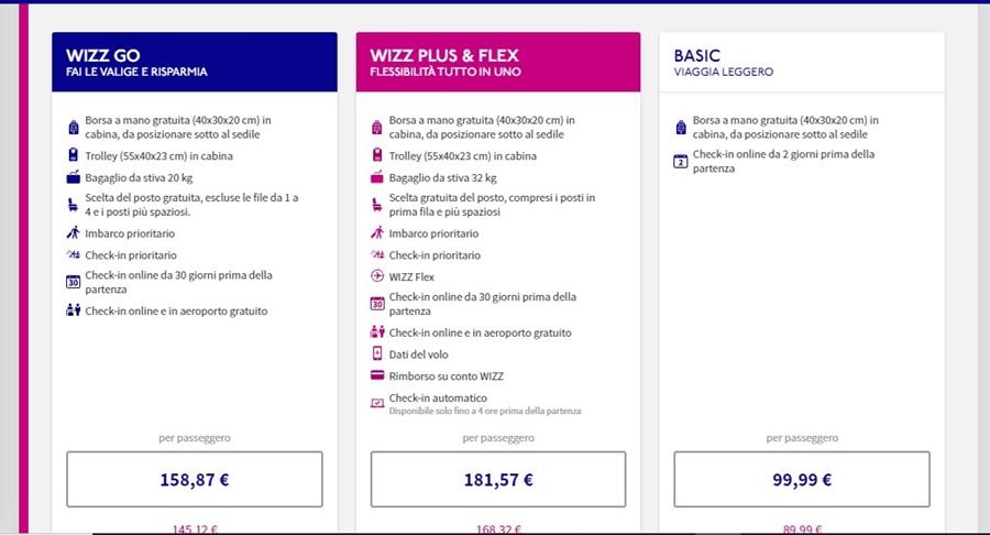 wizz-air-prenotazione-bagaglio-01 Bagaglio Wizz Air: dimensioni, peso e costi