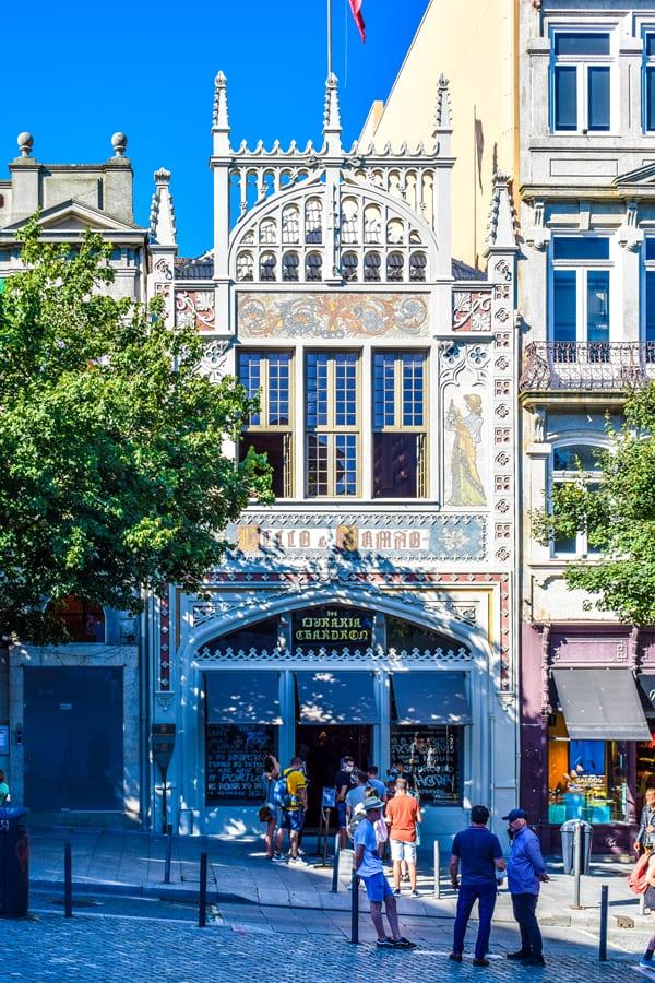 cosa-vedere-a-porto-libreria-lello Cosa vedere a Porto: itinerario di due giorni