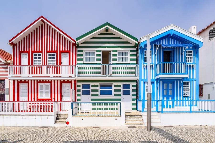 cosa-vedere-aveiro-costa-nova-03 Aveiro: cosa vedere tra canali e case colorate a strisce